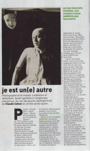 Cahun Claude - je est un(e) autr.JPG