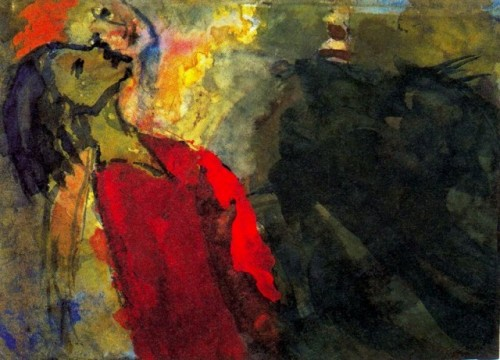 Emil Nolde - Figures Craning their Necks.jpg