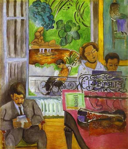 Henri Matisse - The Music Lesson.JPG