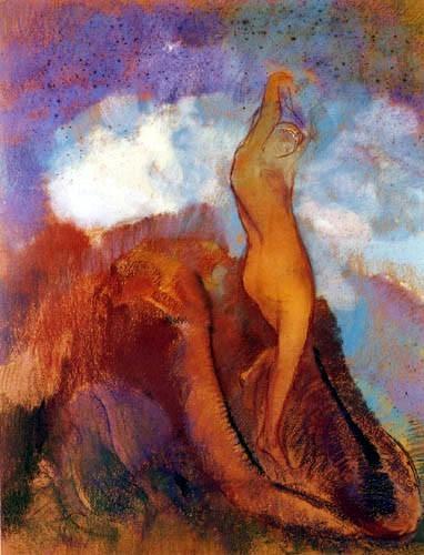 art,peinture,odilon redon,symboliste,partage,humain