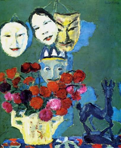 Masques et dahlias de Emil Nolde.jpg
