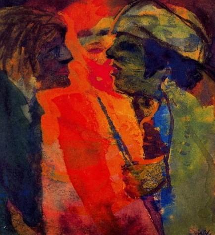 art,peinture,emil nolde,passion,découverte,voyage,partage,humain