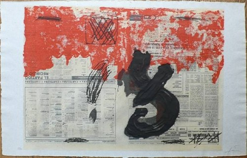 1978 Petrificada petricante (series) etching.jpg