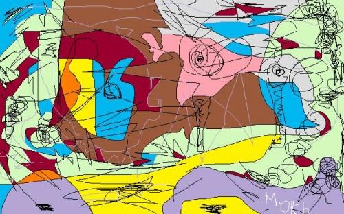 poésie,art,dessin,rencontre,mokhtar el amraoui,amitié,humain