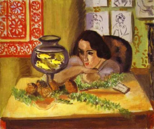 Henri Matisse - Woman before Aquarium.JPG